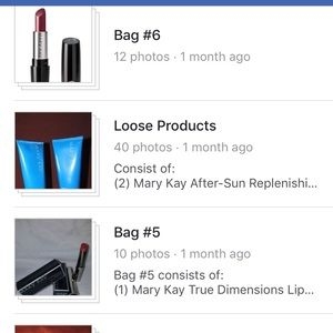 Mary Kay Items